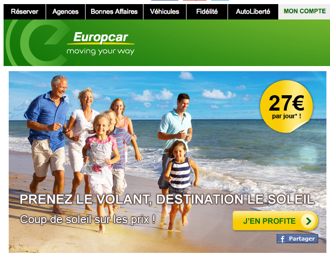 marketing europcar